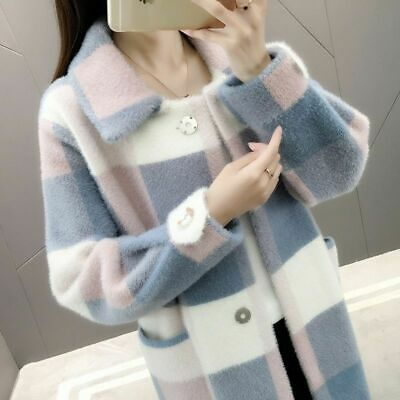Large Fur Coat Full Sleeved Hooded Winter Jacket Thick Warm Casual Girls Clothes