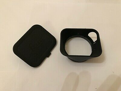Leica Leitz lens hood with ,matching front cover cap/ Code engraved  12588  A49