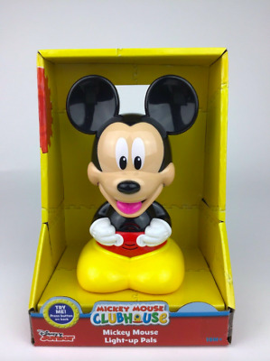 Disney Junior Mickey Mouse Light-Up Pal Button Activates Light /& Mickey Speaks