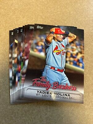 2019 Topps Update The Family Business Insert Pick Your Card
