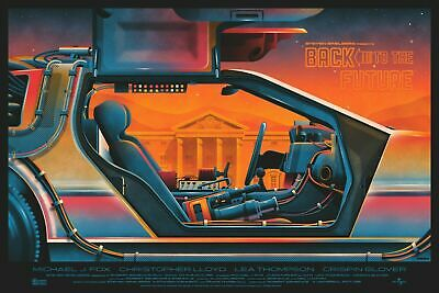 Back to the Future Mondo DKNG Movie Poster Art Steven Spielberg