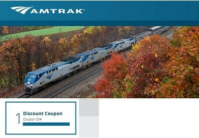 Amtrak 10% Discount Coupon Code (One-Way) - Expires 12/07/2019
