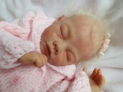 VERY RARE !!! Reborn Baby GIRL Doll -   UNEXPECTED ARRIVAL by TINA KEWY