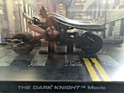 "DC Comics BATMAN ""THE DARK KNIGHT"" Movie BATCYCLE Motorcycle Toy"