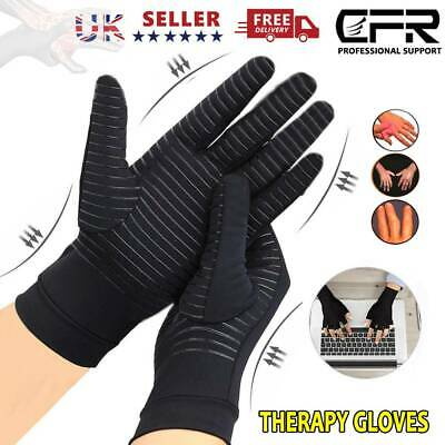 Arthritis Gloves Compression Support Hands Pain Copper Sleeve Carpal Tunnel Grip