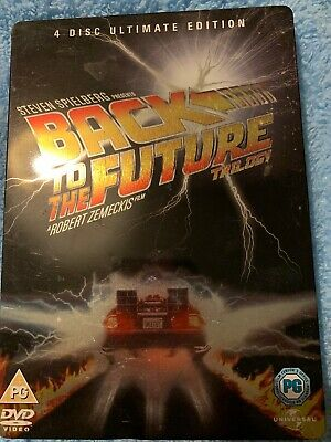 back to the future trilogy steelbook