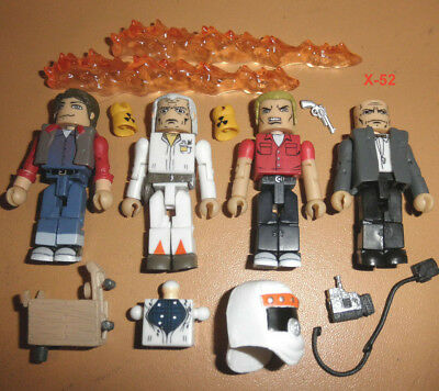 BACK TO THE FUTURE 4 pack ANNIVERSARY toy MINIMATES figure MARTY McFLY doc brown