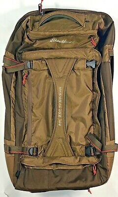 Eddie Bauer Travex Expedition 26 Large Rolling Duffle Bag Wheeled Travel Luggage