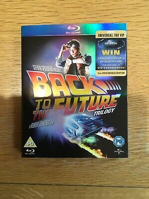 Back to the future trilogy, blu-ray