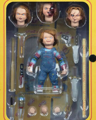 """4"""" NECA Chucky Good Guy Doll Child's Play Ultimate Action Figure Toys Xmas Gift"""