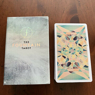 The Fountain Tarot: Illustrated Deck and Guidebook by Jonathan Saiz.