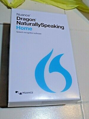 Nuance Dragon NaturallySpeaking Home Version 13 NEW IN SEALED BOX