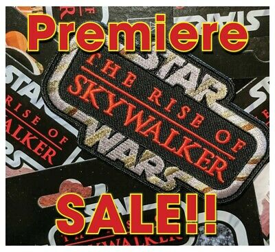 """On SALE!!! STAR WARS""""The RISE of SKYWALKER"""" Kenner Vintage style toy logo patch"""
