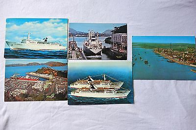 collectable ships postcards.