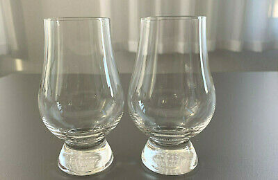 x2 The Glencairn Glass |  Pair Whisky Tasting Clear Glasses Whiskey Barware