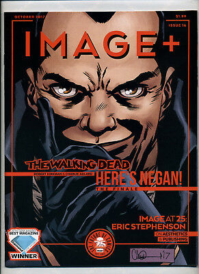 Image + Preview Magazine - The Walking Dead Here's Negan! 1-16 NM Complete Set!
