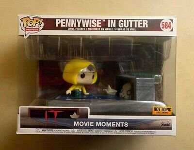 Funko POP Georgie & Pennywise in Gutter IT Movie Moment Hot Topic Exclusive #584