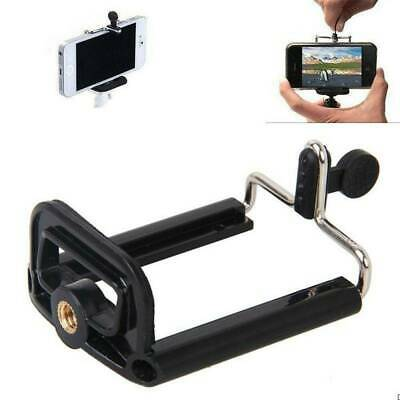 Cell Phone Camera Stand Clip Tripod Holder Mount Adapter For iPhone Huawei Phone