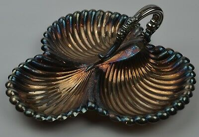 Lunt A-11 Silver Plated Vintage Seashell Serving Tray