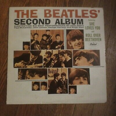 The Beatles Second Album LP
