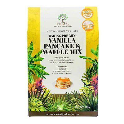 Natural Evolution Vanilla Pancake & Waffle Mix (385g)