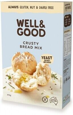 Well & Good Crusty Bread Mix & Yeast (410g)
