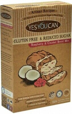 YesYouCan Artisan Raspberry & Coconut Bread Mix (400g)