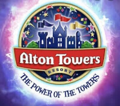 2 x Alton Towers Scarefest tickets (adut or child) - Friday 25th October 2019
