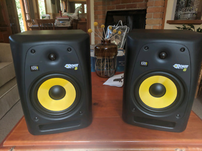 Pair of KRK Rokit 8 G2 Powered Studio Monitors RP8
