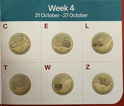 2019 Australia Post $1 Great Aussie Coin Hunt  4th week CELTWZ Free Shipping
