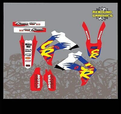 Rebound part Graphics To Fit HONDA CR CRF 85 150 125 250 450 All Years & Models
