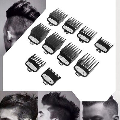 For Wahl Metal Clipper Guard Set Attachment Combs Hairdressing Cutting 2/8/10x