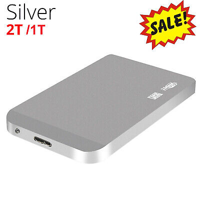 2.5 In SATA3.0 External Hard Drive Disk High Speed 6Gbps 2TB 1TB Portable FZ