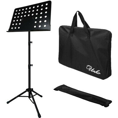 Pro Collapsible Music Stand for Music Sheet Instrument Books Paper Holder w/ Bag