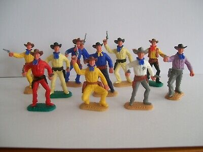 Timpo Cowboys in good condition x 10