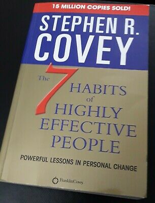 7 Habits Of Highly Effective People by Stephen R. Covey (Paperback)
