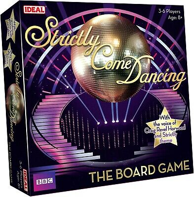 John Adams Strictly Come Dancing Board Game - New - Free Post!