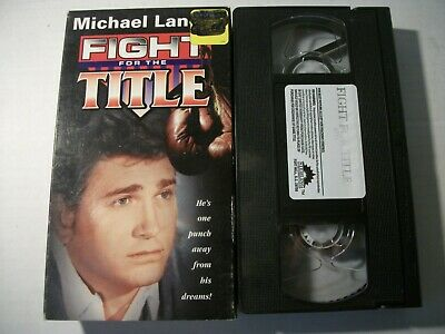 Fight for the Title (VHS, 1997)