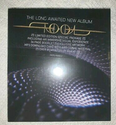 Tool - Fear Inoculum CD RCA Screen Deluxe Edition Video Pack IN HAND Ships Today