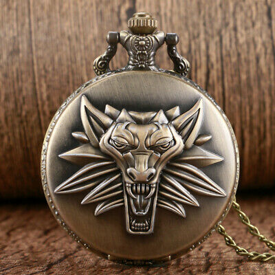 Game of Thrones Stark Family Crest Winter is Coming Design Pocket Watch Unique