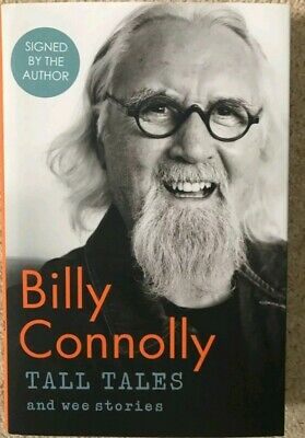 *Billy Connolly Signed Book - Tall Tales and Wee Stories 1st Edition . Brand New