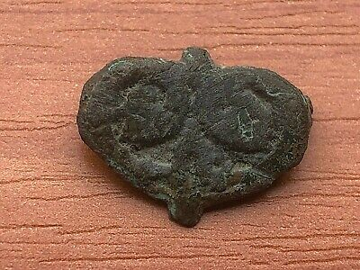 Ancient Roman Bronze Belt Mount Fittings Circa 100-200 AD Very Rare