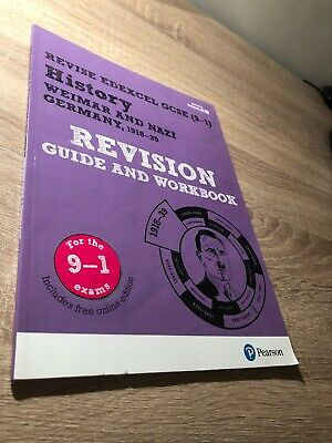 History Edexcel GCSE (9-1) Weimar and Nazi Germany Revision Guide and Workbook