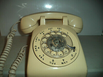 Vintage Rotary Bell System Phone Western Electric