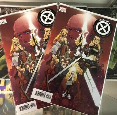 House of X #5 Lafuente character decades variant, Marvel Comics 2019