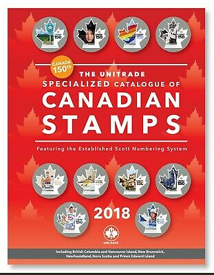 Unitrade Specialized Catalogue of Canadian Stamps 2018 PDF download