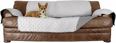 Furhaven Pet Furniture Cover | Two-Tone Reversible Water-Resistant Quilted SOFA