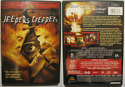 Jeepers Creepers Mgm Region 1 Ntsc Dvd