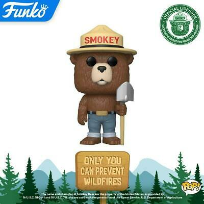 Funko Pop! Ad Icons Smokey Bear Pop Figure (Ships Jan 23Rd)