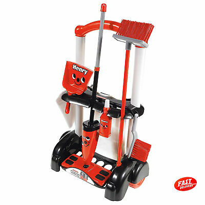 Henry/Hetty Cleaning Trolley Vacuum Cleaner Hoover Casdon Kid Fun Role Play Toy